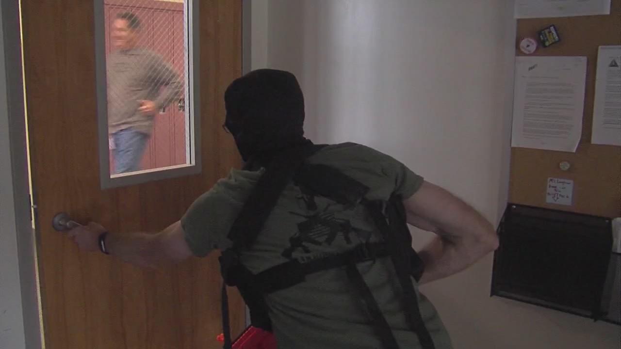 Active shooter training in Syracuse schools