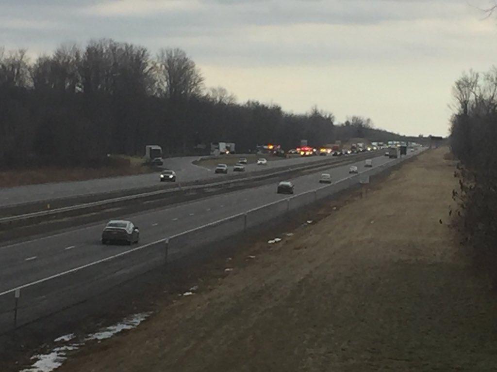 Crash shuts down Thruway westbound near Oneida