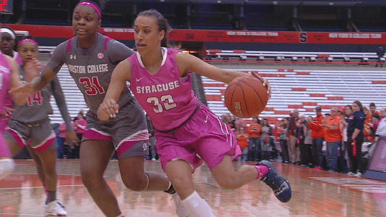 Syracuse women's basketball standout Tiana Mangakahia diagnosed with Stage 2 breast cancer