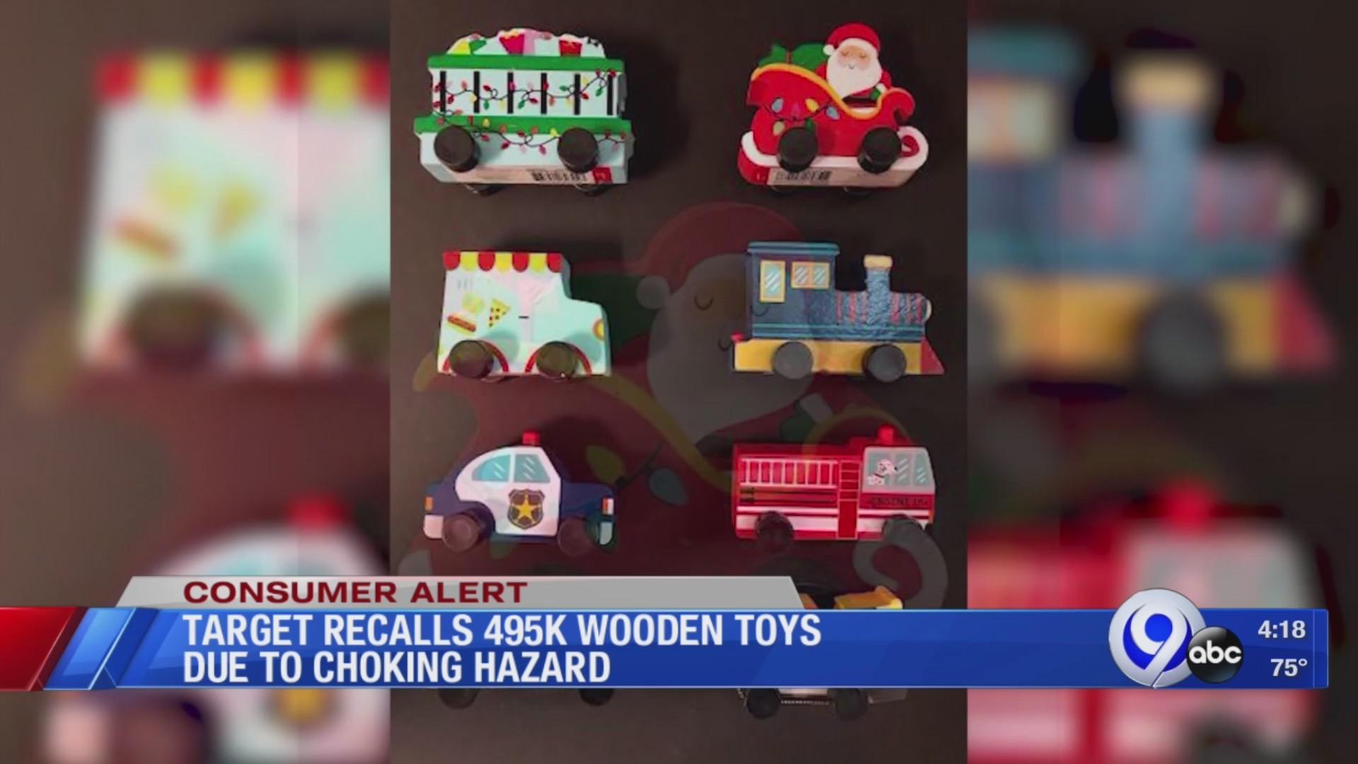 Target recalling toys