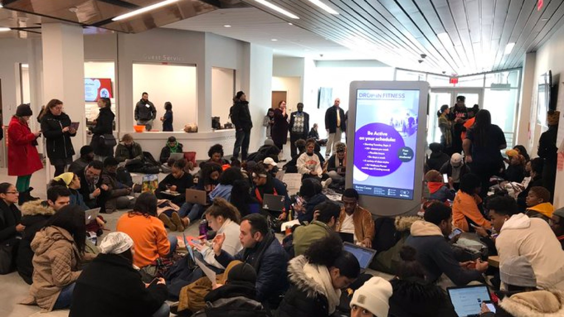 Students end occupation of Barnes Center on campus, now call for Chancellor's resignation