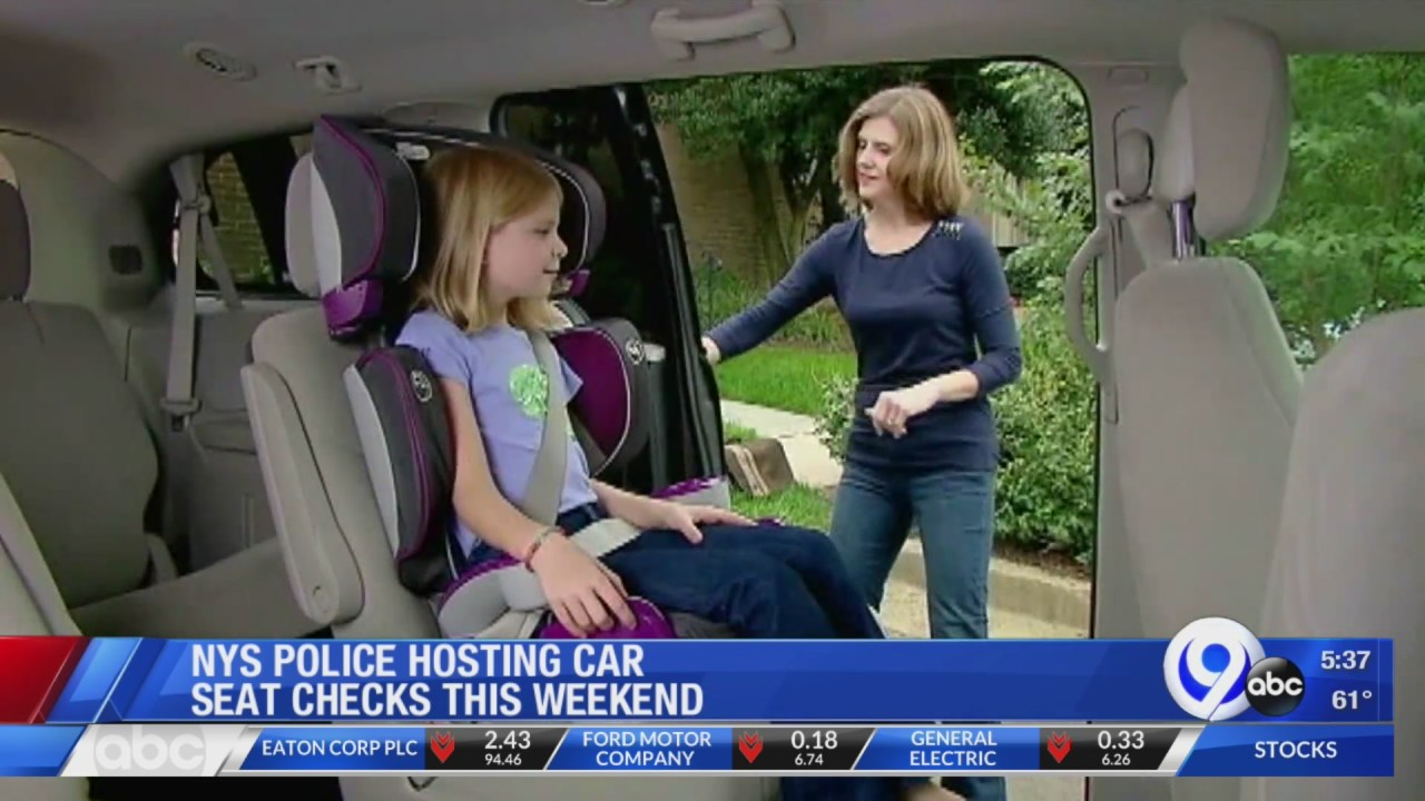 NYSP holding child car seat safety checks this weekend | WSYR