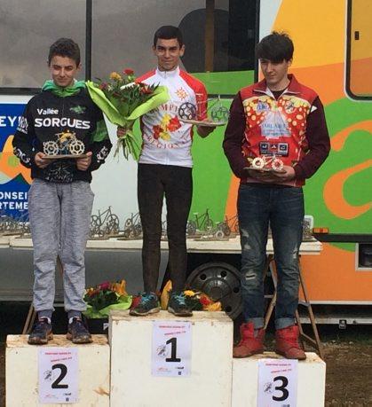 Lo Capial VTT : Noah Cabot champion régional   Lo Capial