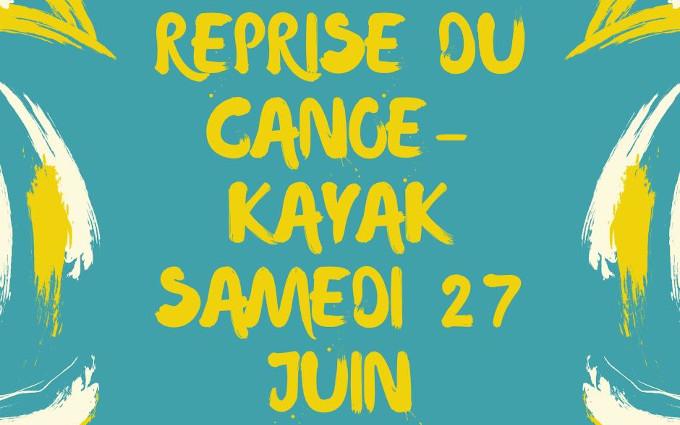 Reprise canoë