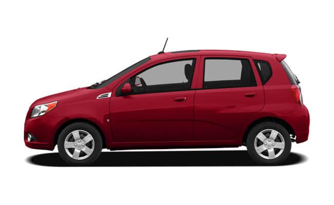 Chevrolet Aveo - new cars under 12000 dollars
