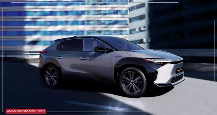toyota electric cars 2022 - Toyota bZ4X