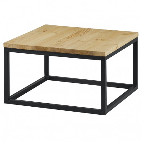 table basse carree 60 x 60 cm