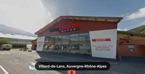 Intermarché location Quartier des Geymonds 38250 Villard-de-Lans