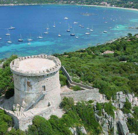Tour De Campomoro Gardienne Du Golfe Du Valinco La Corse