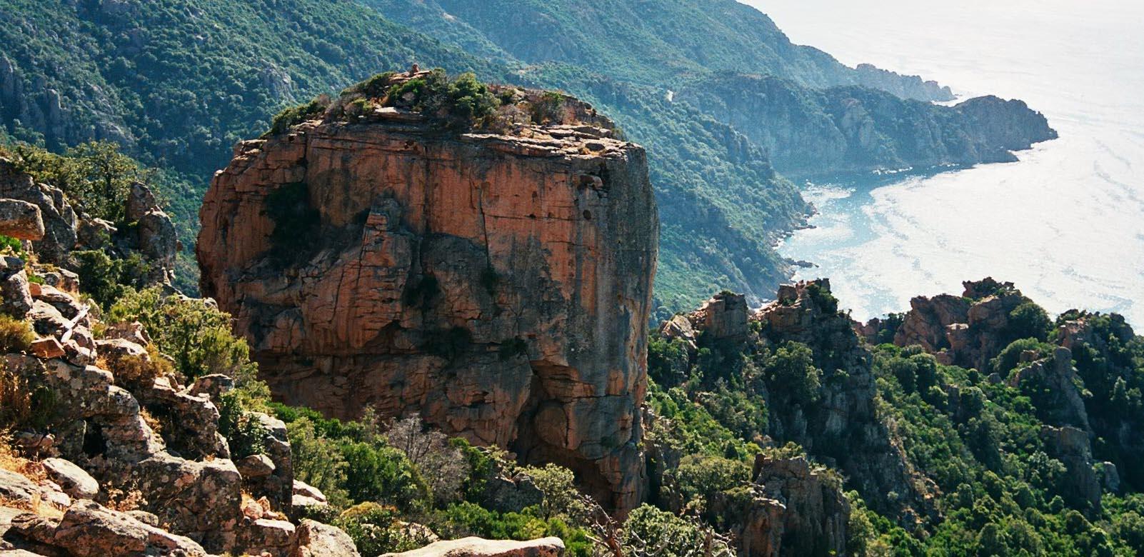 Les Roches Bleues Des Calanche De Piana La Corse