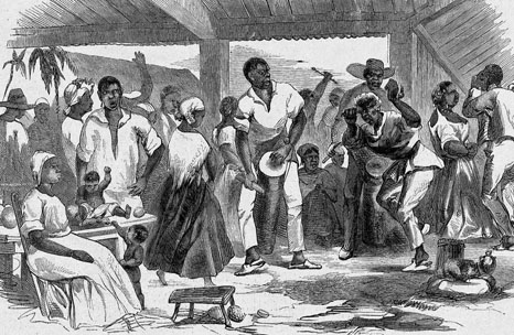 Image result for slaves dancing pictures