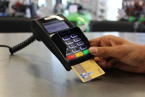 point of sale credit terminal