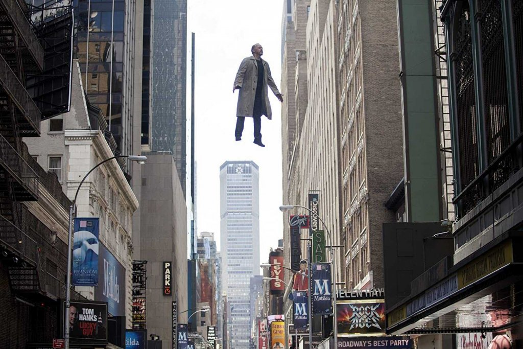 Michael Keaton in Birdman or (The Unexpected Virtue of Ignorance) (2014)