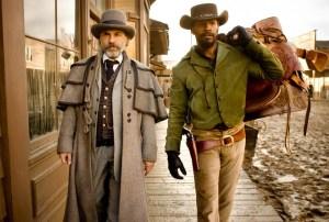 Jamie Foxx e Christoph Waltz in Django Unchained (2012)