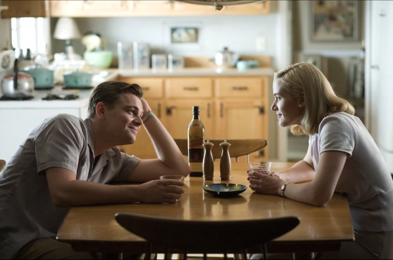 Leonardo DiCaprio e Kate Winslet in Revolutionary Road (2008)