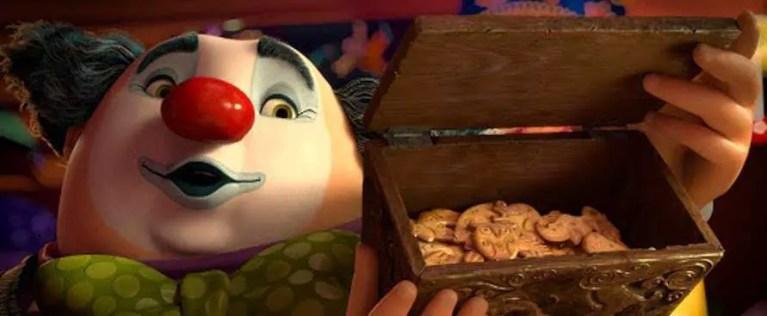 Chesterfield mostra i biscotti a forma di animale