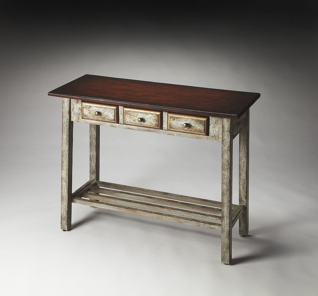 Reclaimed Wood Console Table Decorations Loccie Better