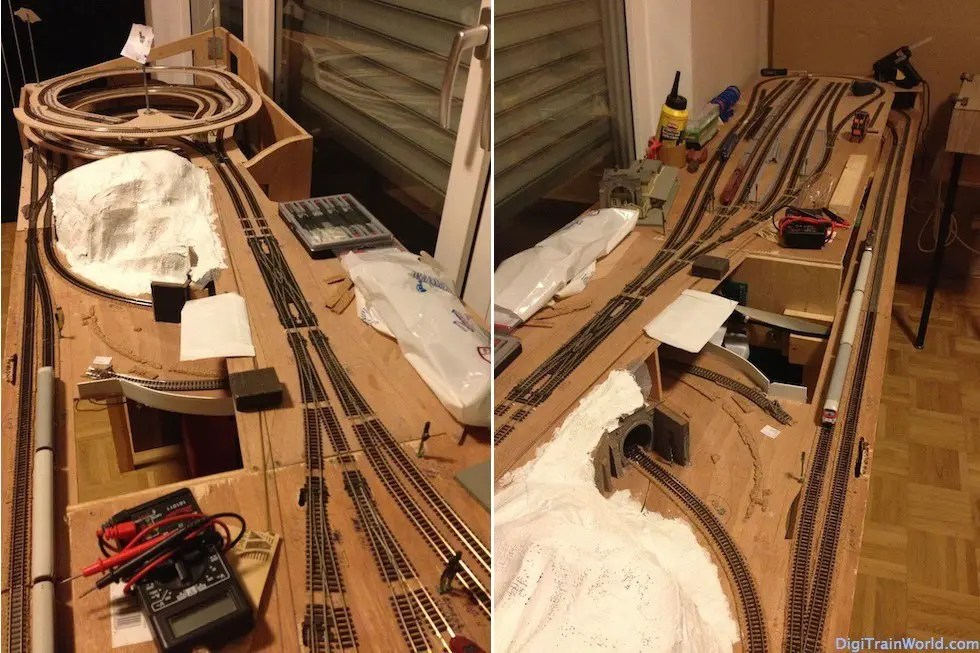 My N-scale layout, photos and more details