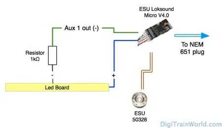ESU Loksound Micro v4.0 & Dapol ND-112A