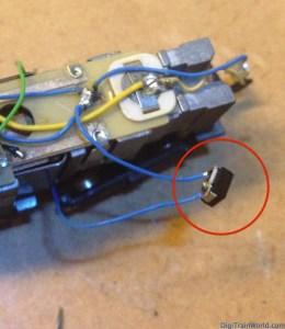 Fleischmann N - DB V100 - Condensateurs