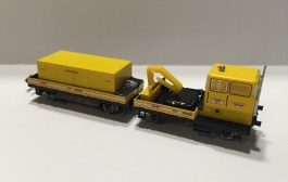 Hobbytrain Rottenkraftwagen KLV 53 converted (sound, Next18)