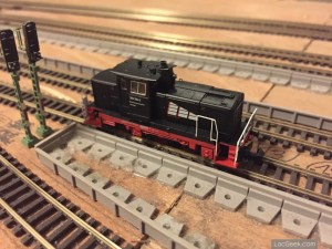 Hobbytrain 249085 - BR V363 Cottbus - On track