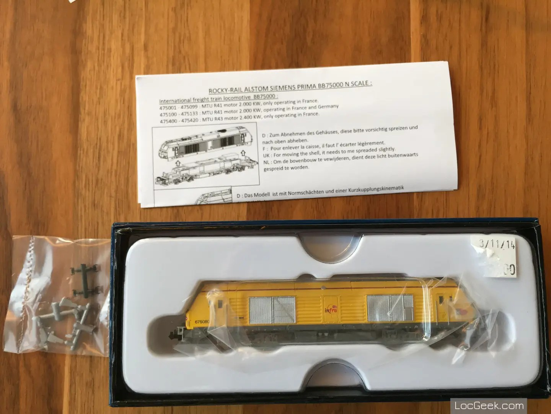 RockyRail RR675085 - SNCF BB75000 Prima Infra boite