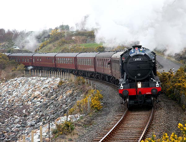 Steam Train Comes to Kyle of Lochalsh