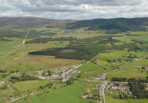 Aerial photo of The Highlands