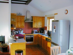 Lochan Cottage kitchen