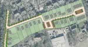 Overzicht van het plan Polsvoort in Lochem (bron: gemeente Lochem)