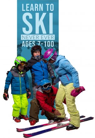 Never Ever Days – Skiing – (Ages 7-99)