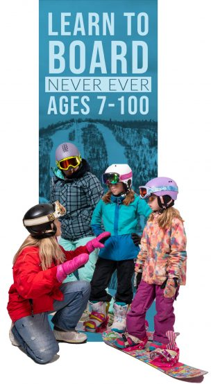 Never Ever Days – Snowboarding – (Ages 7-99)