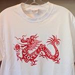 Locke T-shirt white