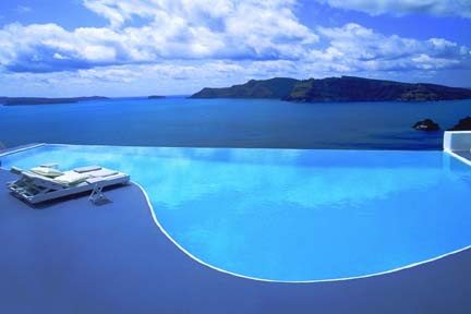 Infinity Pool, Greece Honeymoon