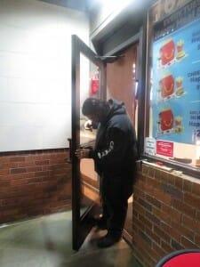 Commercial Panic Bar repair at McDonald's