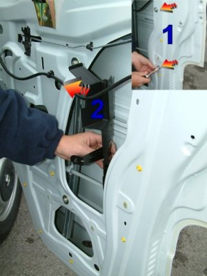 Armaplate Fitting Guide: Vauxhall Movano Front Doors | Locks Online