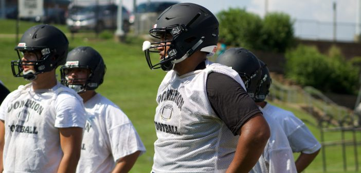 Football: Dominion Opens Camp, Looks to Build on Successful 2016 Campaign