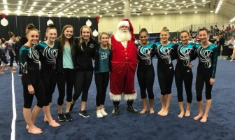 APEX Gymnastics shines at Christmas on the Chesapeake