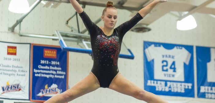 Gymnastics: Loudoun Schools Compete at Glory Days Invitational