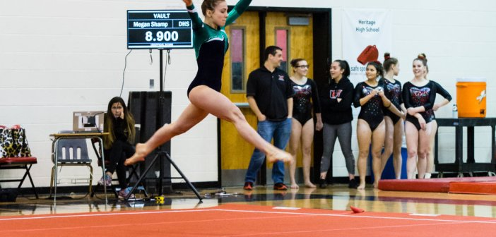 Gymnastics: Six Loudoun Teams Compete in Late Season Meet at Heritage