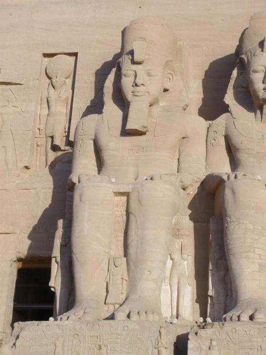 Egipto: Templo de Ramsés II de Abu Simbel
