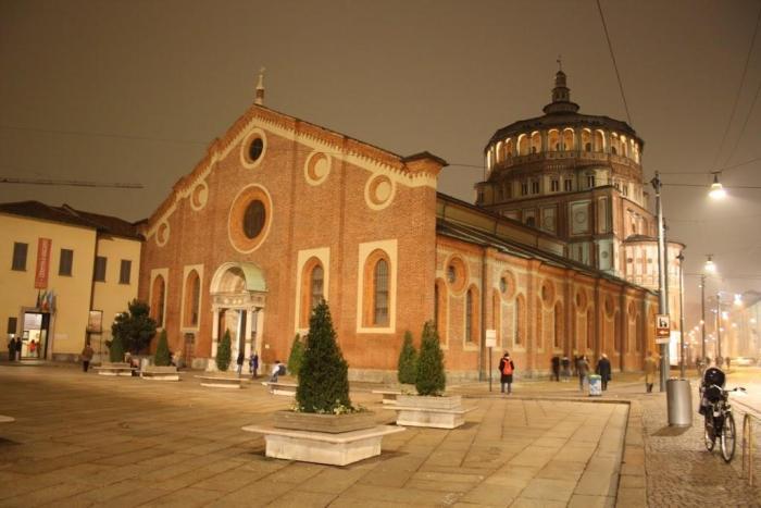 iglesia de Santa María delle Grazie