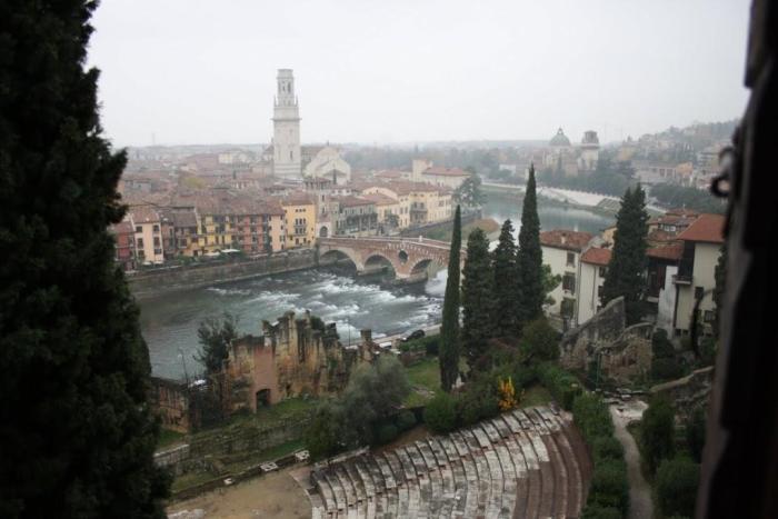 Vistas de Verona desde el Teatro Romano