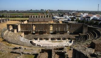 El yacimiento romano de Itálica, Sevilla
