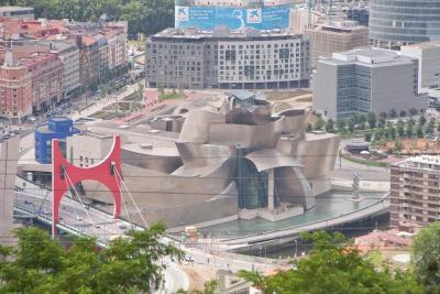 Bilbao desde el monte Artxanda