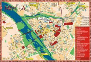 Plano de Mérida