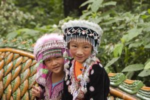 Niñas en Doi Suthep