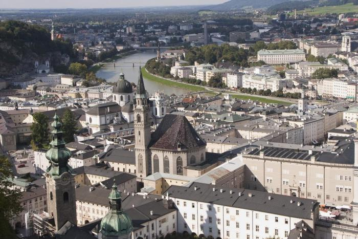 Salzburgo desde la fortaleza