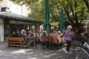 Biergarten de Viktualienmarkt